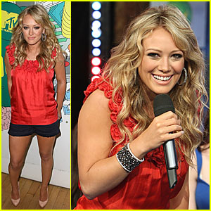 Hilary Duff Declares War on TRL