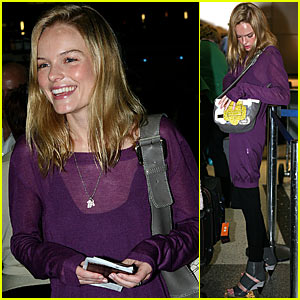 Kate Bosworth is Purple-licious