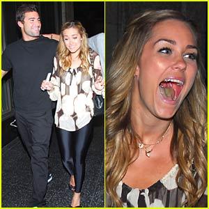 Lauren Conrad Parties with Brody Jenner