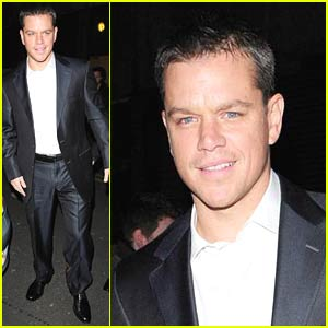 Matt Damon Loves L'Atelier