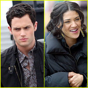 Penn Badgley Szohr Looks Cute