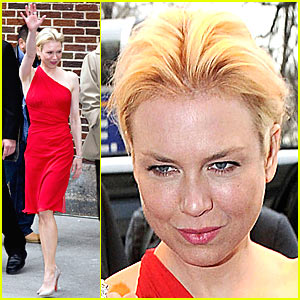 Renee Zellweger @ Late Show with David Letterman