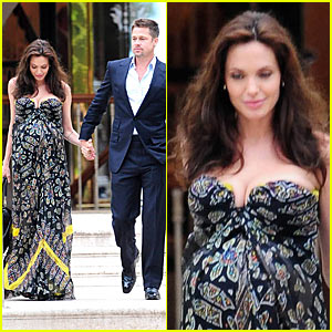 Angelina Jolie's Date Night Out in Cannes