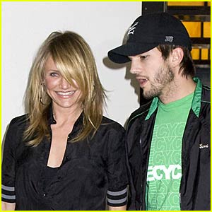 Cameron Diaz and Ashton Kutcher Tackle TRL