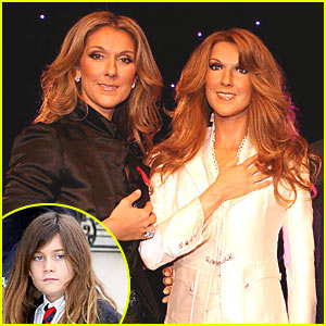 Celine Dion Gets Waxy