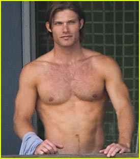 Chris Carmack is Shirtless