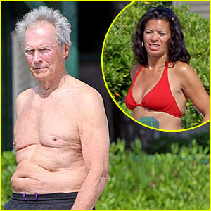 Clint Eastwood is Shirtless