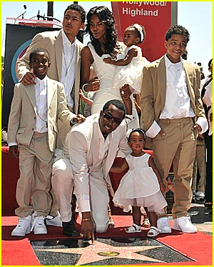 Diddy's Hollywood Star Shines Bright