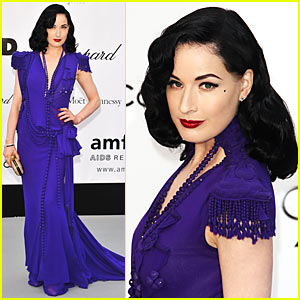 Dita Von Teese Joins amfAR's Cinema Against AIDS