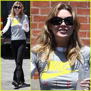 Ellen Pompeo: Tell Me How I'm Supposed to Breathe with No Nike Air