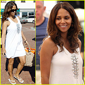 Halle Berry is a Malibu Mommy
