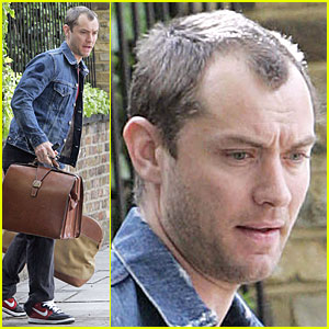 Jude Law is a London Luggage La