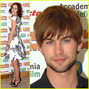 Leighton Meester & Chace Crawford Do Italy