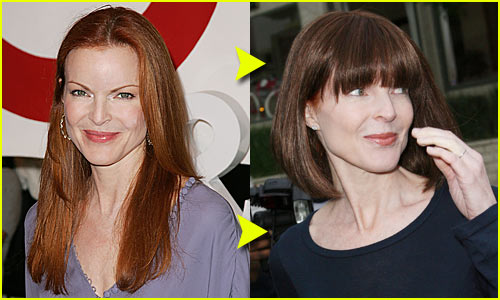 Marcia Cross Debuts New Short Do