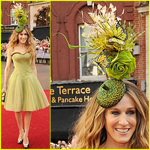 Sarah Jessica Parker Premieres Sex and the City