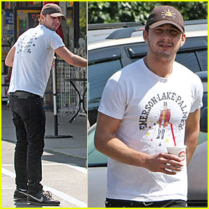 Shia LaBeouf Makes a Robeks Run -- Literally