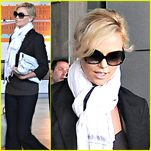 Charlize Theron's Fabulous French Flight