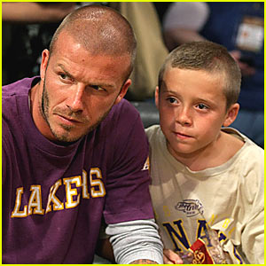 David Beckham Brings Luck to the Lakers