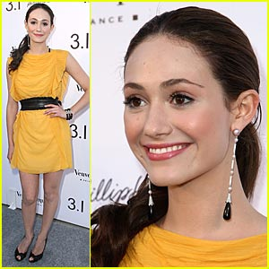 Emmy Rossum is Phillip Lim Lovely