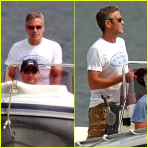 George Clooney is a Tantalizing Tourist