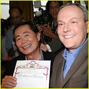 George Takei Receives Marriage License