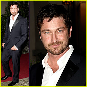 Gerard Butler is a Milan Man