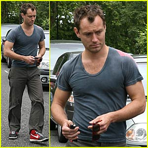 Jude Law Does Dior Homme Sport