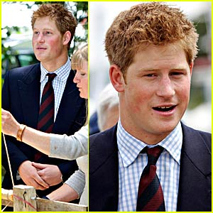 Prince Harry is Agog with Agriculture