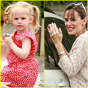 Violet Affleck is a Brentwood Baby