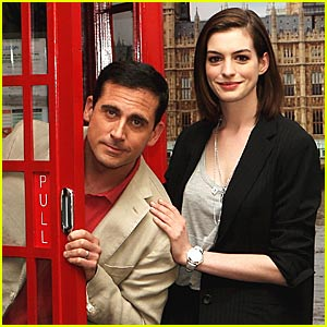 Anne Hathaway is a Phone Booth Babe