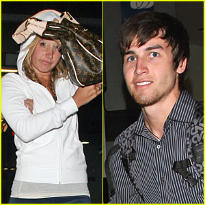 Ashley Tisdale Plays Peek-a-Boo