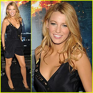 Blake Lively is The Dark Knight