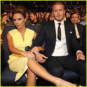 The Beckhams Heat Up The ESPY Awards