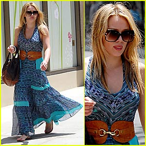 Hilary Duff is Boho Chic