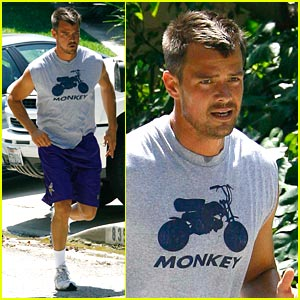 Josh Duhamel is a Monkey
