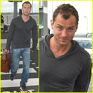Jude Law Has New Mystery Woman