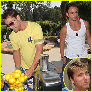 Lance Bass is Sebastian Smiley