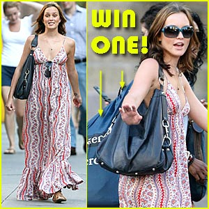 Win Leighton Meester's Rebecca Minkoff Handbag!