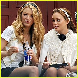 Leighton Meester: Sushi On The Steps