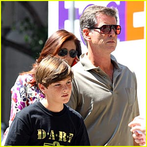 Pierce Brosnan Has Skateboarding Sons