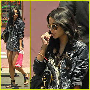 Vanessa Hudgens' Scintillating Spa Day
