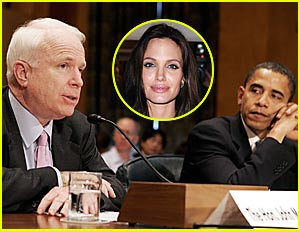 Angelina Jolie's Presidential Pick is Undecided