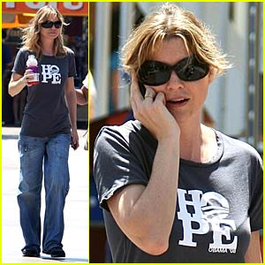 Ellen Pompeo Hopes For Barack Obama