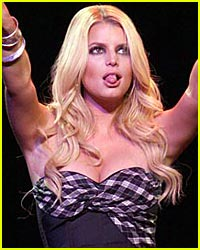 Jessica Simpson Slips Us Some Tongue