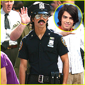 Joe Jonas is a Cute Cop