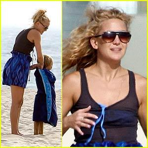 Kate Hudson's Beach Hunk