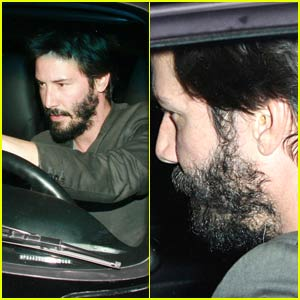 Keanu Reeves Has Earwax Build-Up