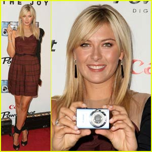 Maria Sharapova's Powershot Diamonds