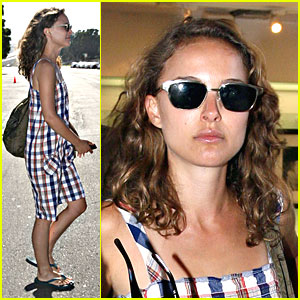 Natalie Portman is Plaid Pretty