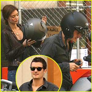 Orlando Bloom's Motorcycle Mania Redux